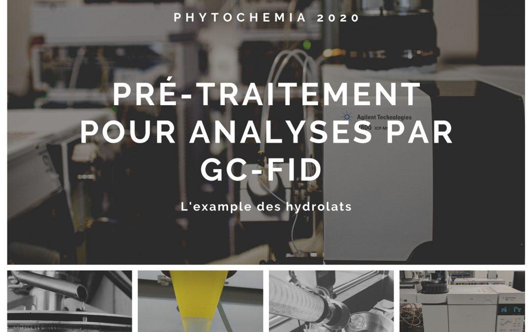 Le pré-traitement pour des analyses par GC-FID/MS – L'exemple des hydrolats